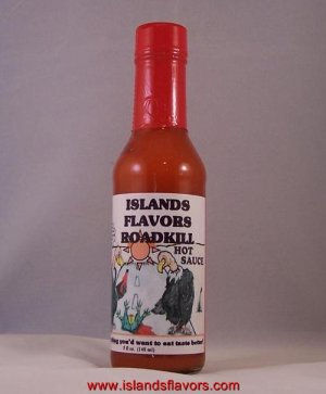 Islands Flavors Roadkill Hot Sauce 5oz