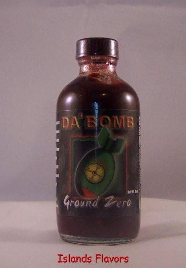 Da' Bomb Ground Zero Hot Sauce - 4oz