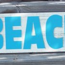 Beach Directional Arrow Tropical Beach Bar Sign