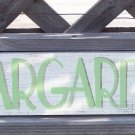 Margaritas Directional Arrow Tropical Beach Bar Sign