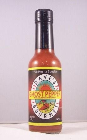 Dave's Gourmet Ghost Pepper Naga Jolokia Hot Sauce 5oz