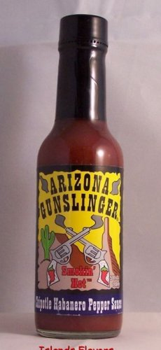 Arizona Gunslinger Chipotle Habanero Pepper Hot Sauce