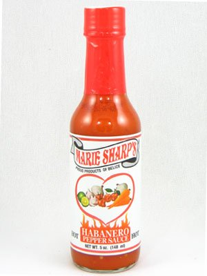 Marie Sharp's Habanero Pepper Hot Sauce 5oz Case 12