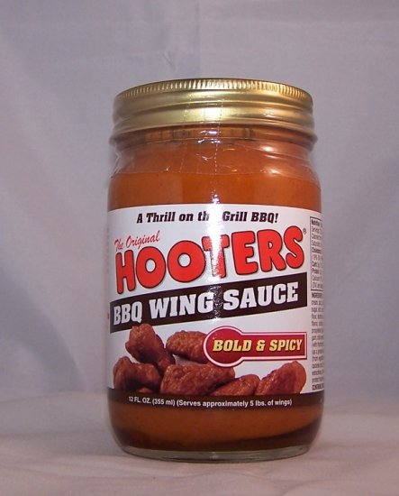 Hooters Chicken Wing BBQ Sauce Bold Spicy