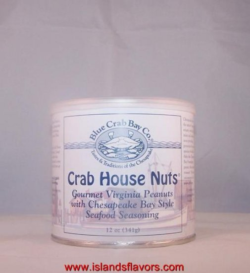 Crab House Nuts Blue Crab Bay Co Seafood Seasoned Nuts