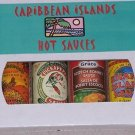 Caribbean Islands Hot Sauce 4 Pack Gift Box