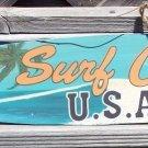 Surf City Surfboard Sign Tropical Beach Bar Metal New