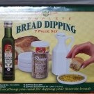 Dean Jacob's Bread Dipping Set New 7 Piece Olive Oil