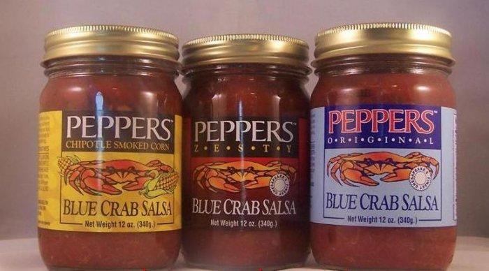 Blue Crab Salsa Original Zesty Corn 3pack 12oz