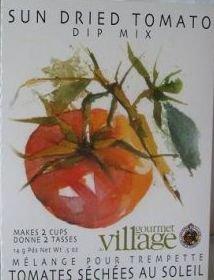 Gourmet Village Sun Dried Tomato Dip Mix .6oz