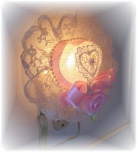 Lovely NEW! Victorian HAT Pink Rose Heart CHIC!