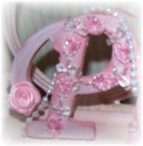 NEW! Pink PRINCESS Wood Art Sweet Girl's Rm Decor