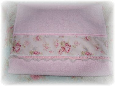 Mary Rose Decorative Display Soft Pink Guest HAND TOWEL