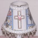 NEW Cross Pastels Mini Lamp Shade with Pearl Iridescent Beading