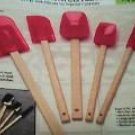 5- Pc. Silicone Spatula Sets