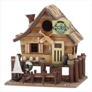 'YACHT CLUB' BIRDHOUSE