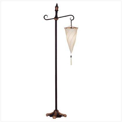 SPIRAL HANGING FLOOR LAMP