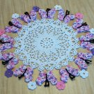 FLIGHT OF BUTTERFLIES DOILY - **NEW**