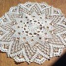Exquisite Elegance Hand Crochet Doily - **NEW**