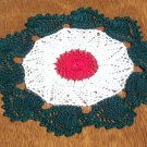 Christmas Holiday Pineapple Swirl Wreath Doily - **NEW**