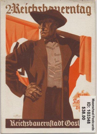 Propaganda. 2nd Reich Farmer Day. Goslar 1934.