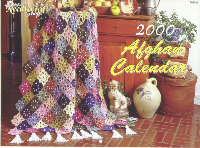 2000 Afghan Calendar - The Needlecraft Shop