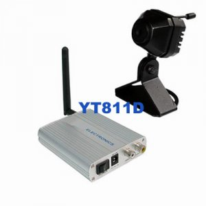 Wireless 2.4G Color Video CCTV Camera and 4Ch Receiver YT811D