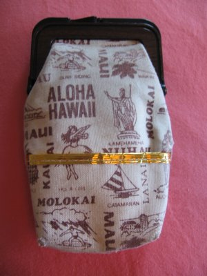 1950 Hawaii coin purse or cigarette purse