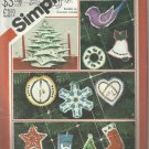 Vintage Pattern-Christmas Ornaments