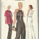 Vintage Pattern-Very Easy Vogue-Misses Dress-Pantdress-Jacket Sz 12