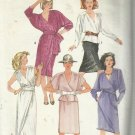 Plus Size Pattern-Misses Easy To Sew Two Piece & One Piece Dress-Sz 22-24