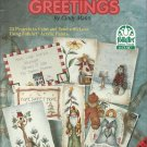 Decorative Tole Painting Pattern Booklet-Heart Felt Greetings-24 Projects-Cards