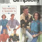 Pattern-Western Classics Misses & Men's Western Shirts-Sizes LG-XL