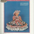 Crochet Doll Clothing Pattern-Norma Bed Doll Collection-For Darice Grandma Doll