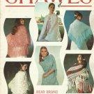 Vintage Pattern Booklet-SHAWLS-Bear Brand-Fleisher-Botany
