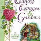 Tole Painting Instructions Book-Painting Country Cottages