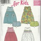 Pattern-It's So Easy-Toddlers Dress & Panties in Sizes 1/2-1-2-3-4