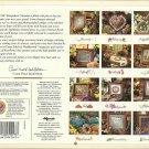 Cross Stitch Pattern Book-1997 Keepsake Calendar-Patterns