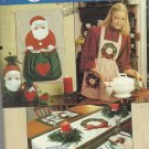 Vogue Craft Pattern-Christmas Craft-Gift Bags-Pot Holders-Placemats-Apron-Cardho