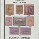 Book-Mail Sale #132-Featuring Worldwide Rare Stamps & Covers-Sept. 13, 2004