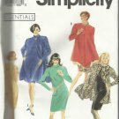 Pattern-Essentials-Misses Unlined Coat In Two Lengths and Dress-Sz 10-16
