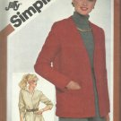 Vintage Pattern-Misses Jiffy Unlined Jacket in Size  12