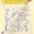 Aunt Martha's Hot Iron Transfer-Lil Leaguers-Baseball