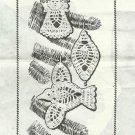 Vintage Crochet Pattern-Crocheted Christmas Designs-Design 528