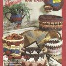 Pattern Leaflet-Southwestern Rag Baskets-Rugpoint-Simple Coil Method