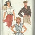 Vintage Plus Size Pattern-Women's Shirts-Sizes 40-42-44-46