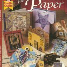 Passion For Paper-Beautiful Booklets-Fold Ups-Cards-Jewely & More