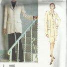 Vogue American Designer Pattern-Anne Klein-Misses Jacket-Skirt-Pants-Sz 12-16