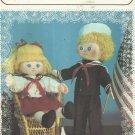 "Vintage Doll Pattern-DAISYMAE DOLLS-21"" Kate & Skipper Navy Doll-Too Cute!!!"