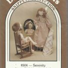 "Doll Pattern-Dream Spinners-27"" Serenity Doll & Clothes-Quilt"